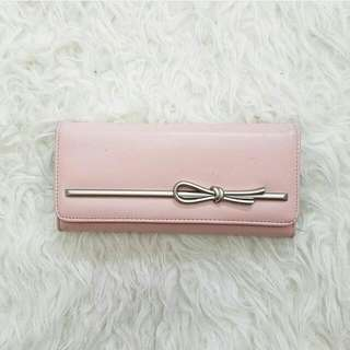 Korean Pink Wallet Dompet