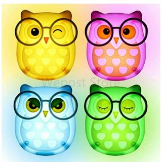 Owl Bed Room Lamp Socket
