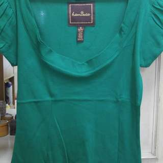 Kamiseta v-neck blouse