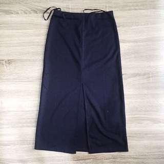Zalora Navy Skirt