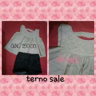 Terno for baby girl