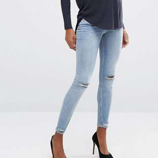 ASOS MATERNITY JEANS 6