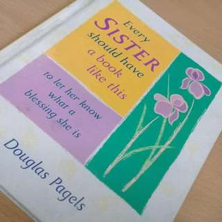 Every Sister Should Have A Book Like This By Douglas Pagels