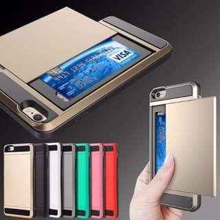 🚚 Card Storage Phone Case iPhone 7 S8 S8+ S8 Plus FREE Postage