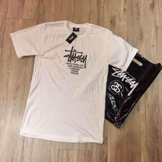 Stussy 白色短T T Shirt Supreme Nike