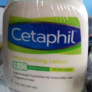 Cetaphil Body And Face Moisturizing Lotion