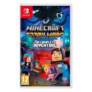 收 Switch Minecraft: Story Mode - The Complete Adventure