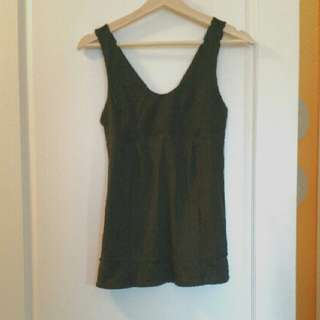 Lululemon Black Tank With Special Design