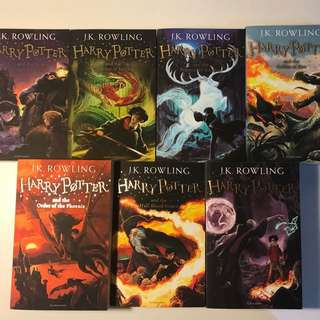 Harry Potter 1-7 Book Collection
