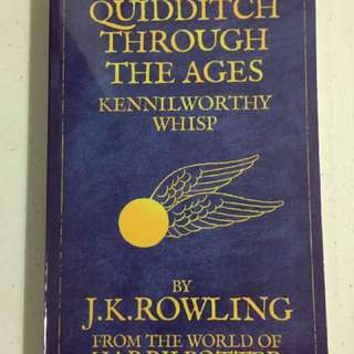 Quidditch Through The Ages (part Of Harry Potter Collection)