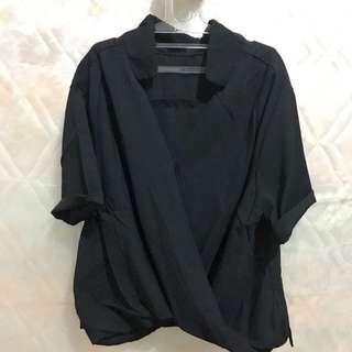 Modern Black Shirt