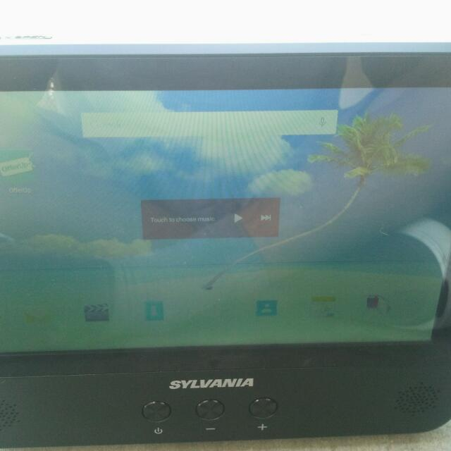 """9"""" Android Tablet Sylvania DVD Player"""