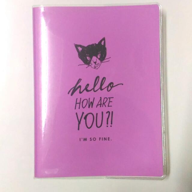 🔥A6筆記本/冊子 #紫