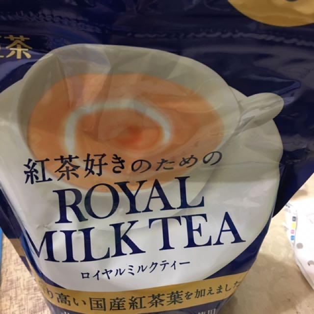 日本帶回 日東皇家奶茶 袋裝 夾鏈袋 280g