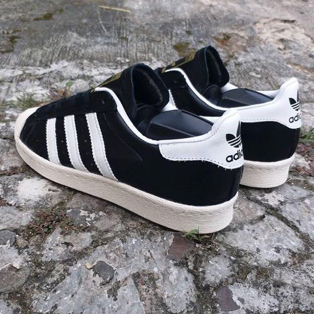 Adidas Superstar 80's Original Black White