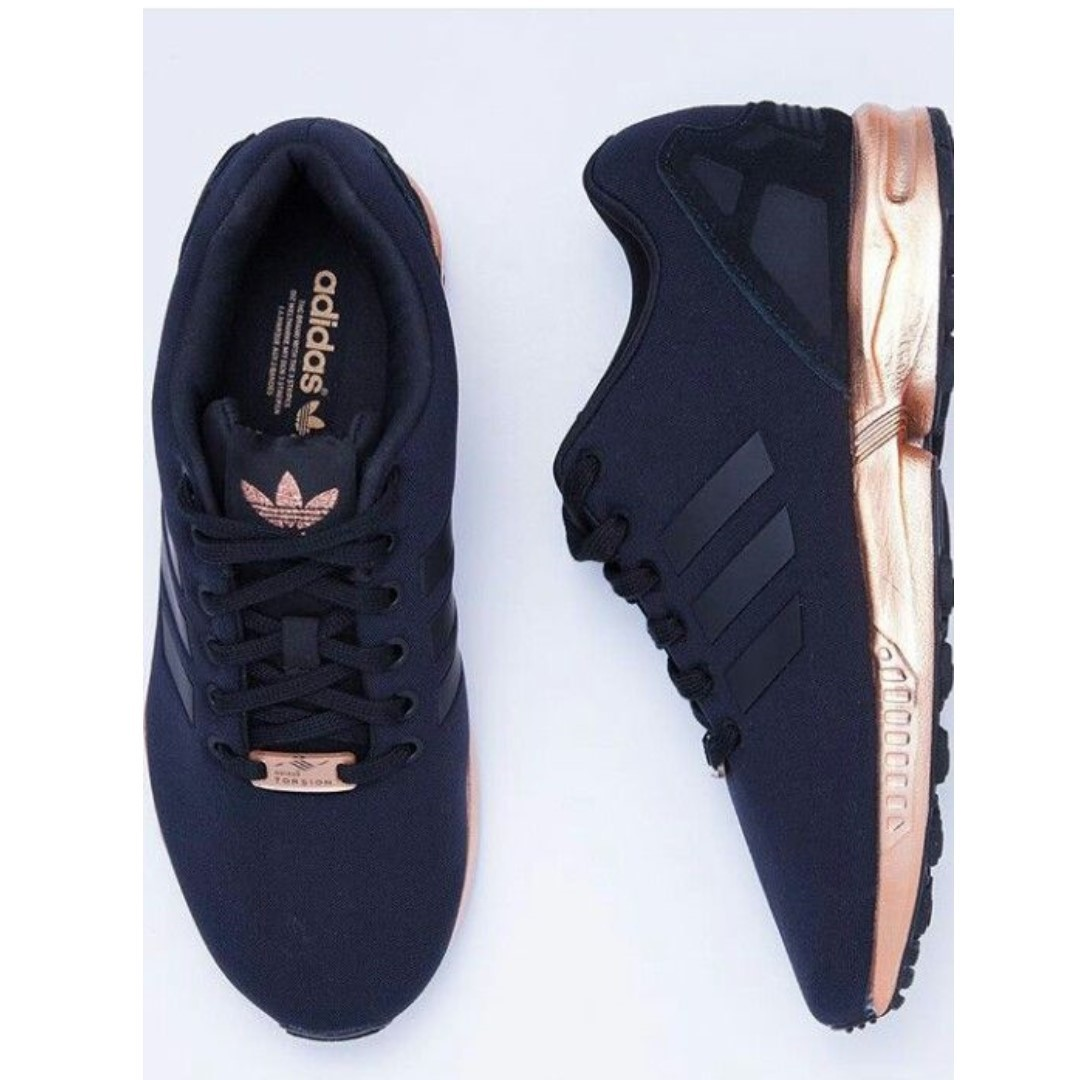 Genoeg Adidas Zx Flux Black and Gold - Copy Ori, Sports, Athletic &LK15