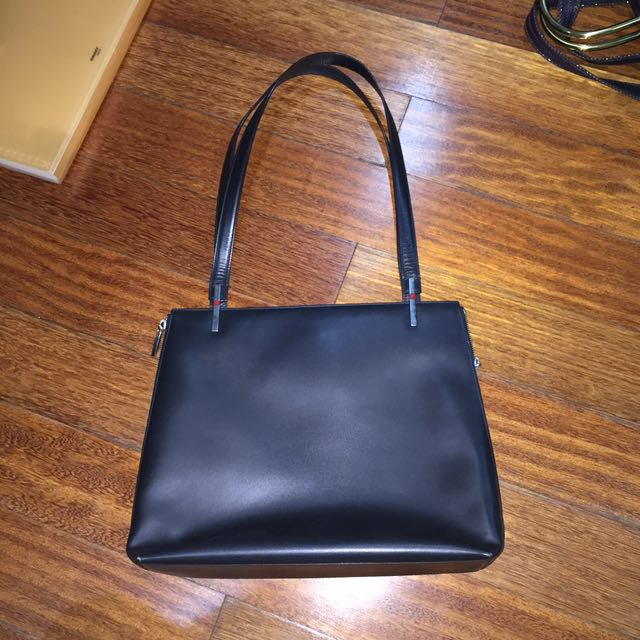 Aigner Black Handbag