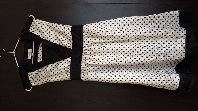 Ally B. Polka Dots Dress
