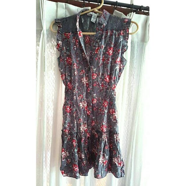 American Rag Floral Dress XS