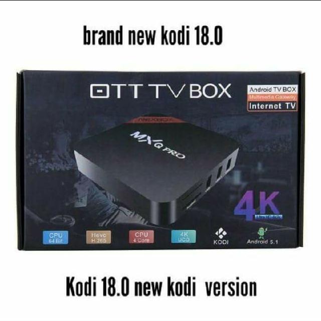 Android Tv Box Kodi 18.0 Loaded