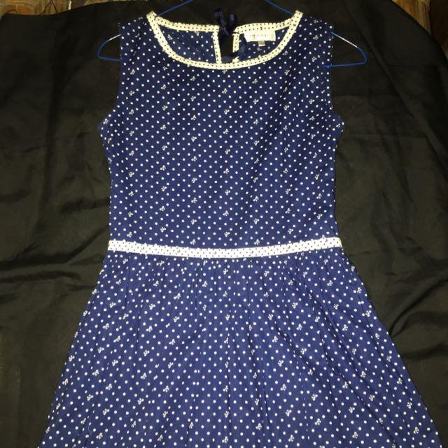 Apple And Eve Blue Dress