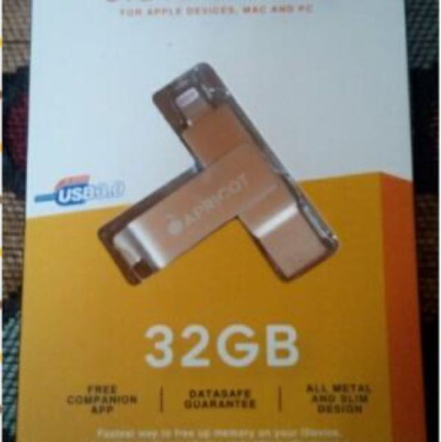 Apricot Flash Drive For Iphone 32gb