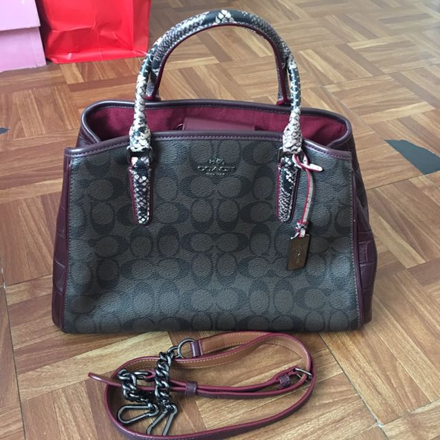 Authentic Coach Margot Hand/Sling bag