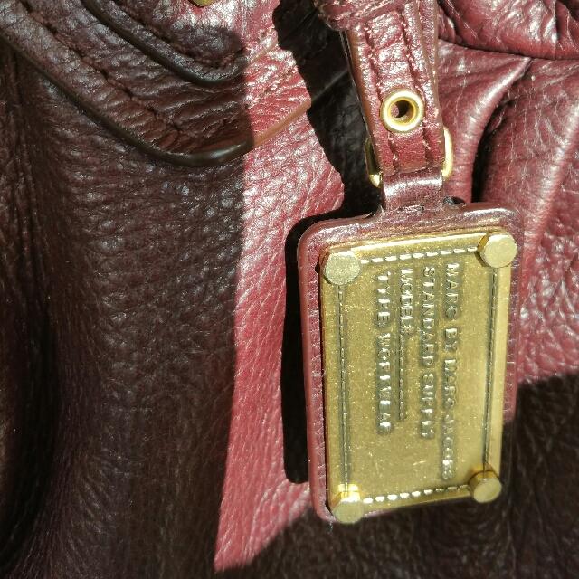 Authentic Marc Jacobs Leather Handbag