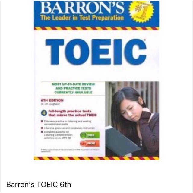 Barron's TOEIC 6th 多益