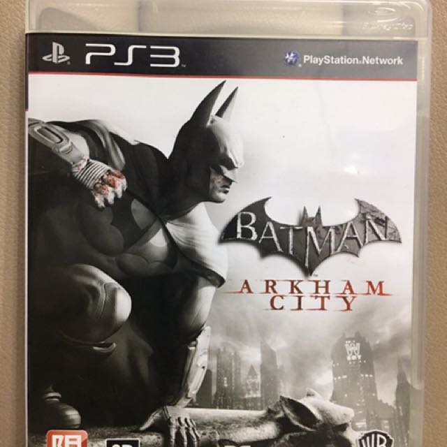 Batman: Arkham City PS3遊戲片(二手)