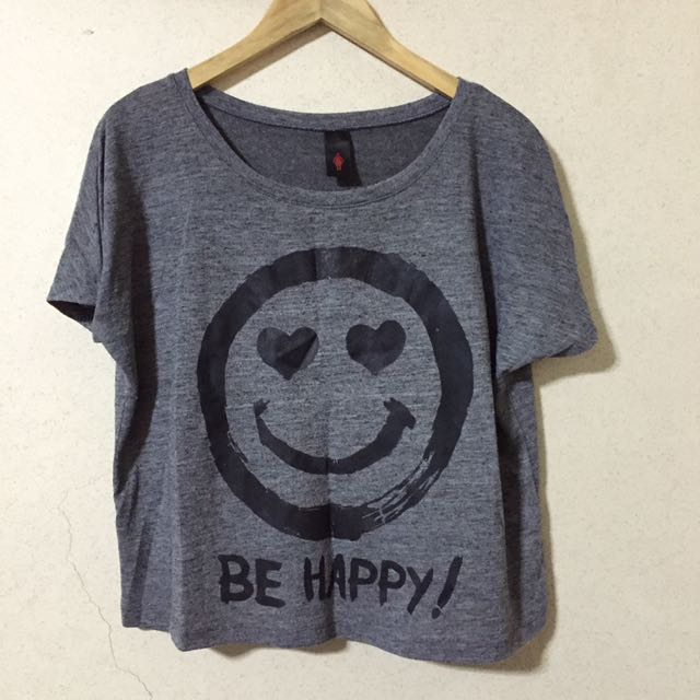 Be Happy Statement Tee