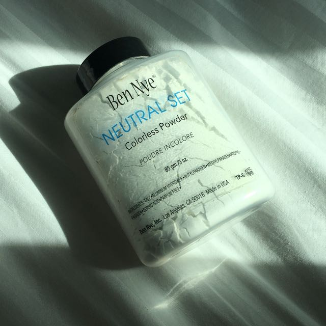 Ben Nye Colorless Powder