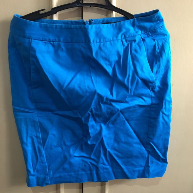 Blue pencil skirt G2000 (size 32)