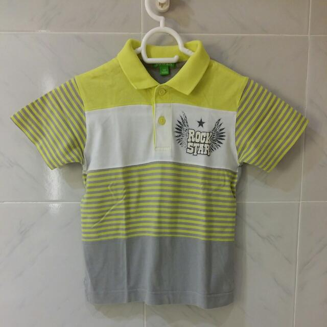 Bossini Kids Size 100 Collared Shirt