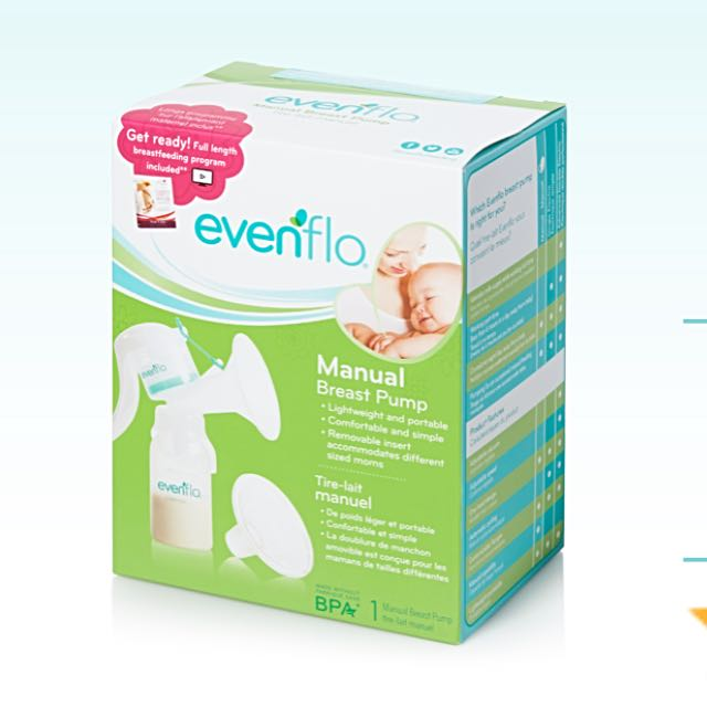 Brand new Evenflo Manual Breast Pump