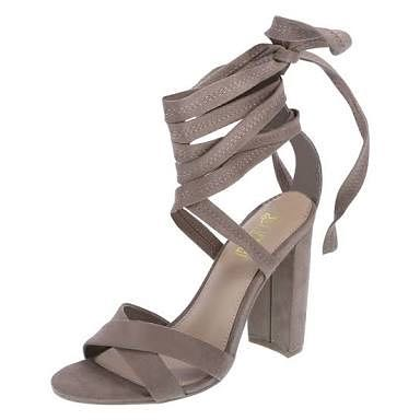 fdd81fe1240 BRASH Lace Up Heels