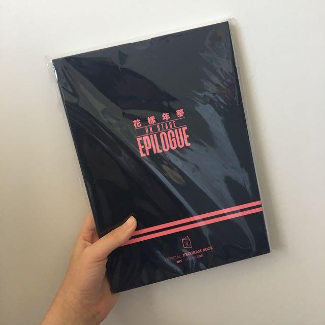 BTS bangtan Epilogue Program Book