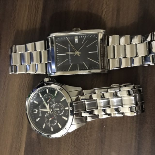 Bulova And French Connection