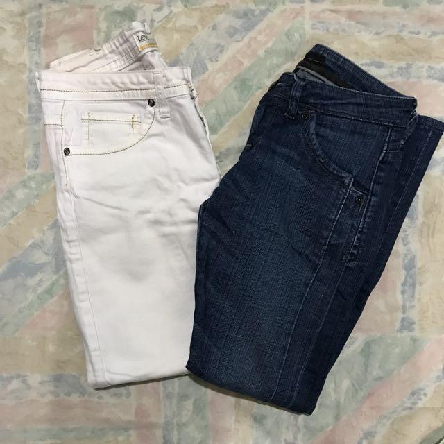 Bundle #12 - Lee Pipes Jeans