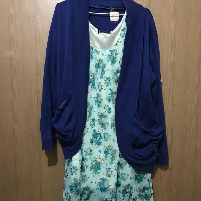 Bundle #15 - Dress With Cardigan