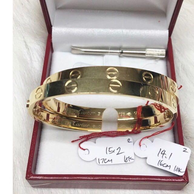 Cartier Love Bangle 18k 101% Saudi Gold