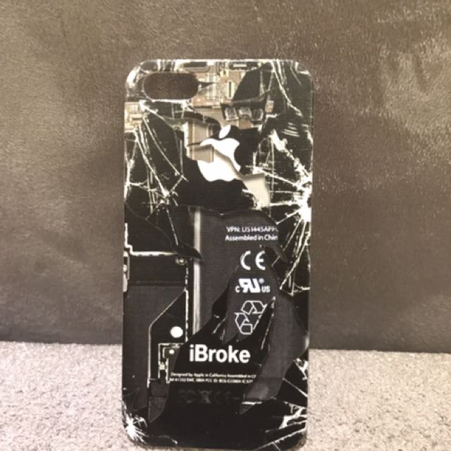 Case iphone 5/5s/se - ibroke