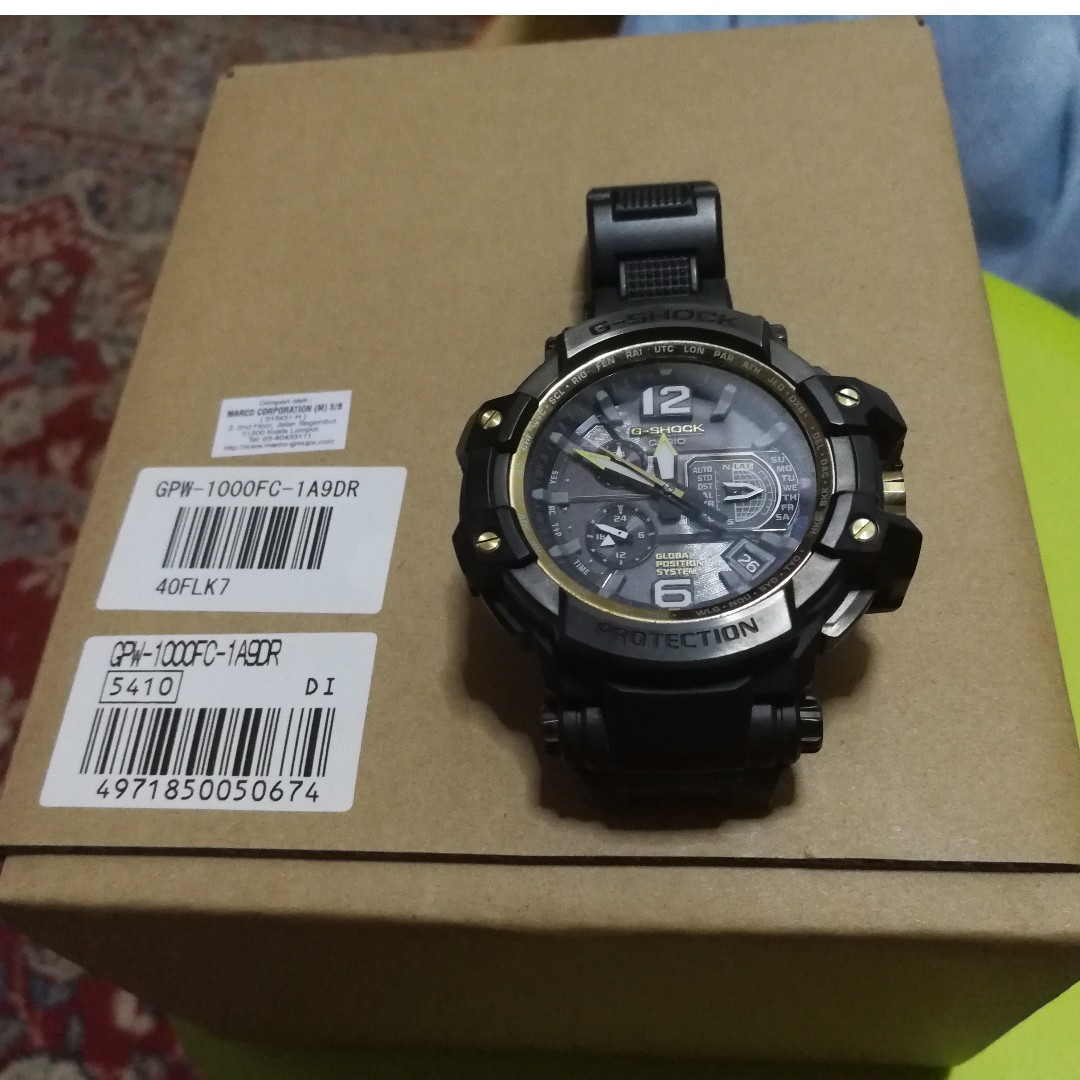 Casio G Shock Gps Hybrid Wave Ceptor Mens Fashion Watches On Gd 400mb 1 Carousell