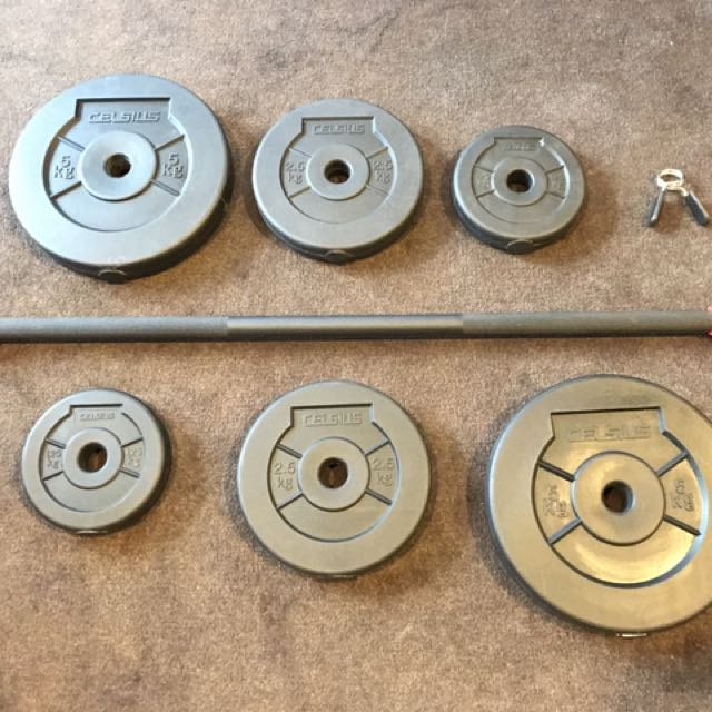 Celsius Barbell Weight Set