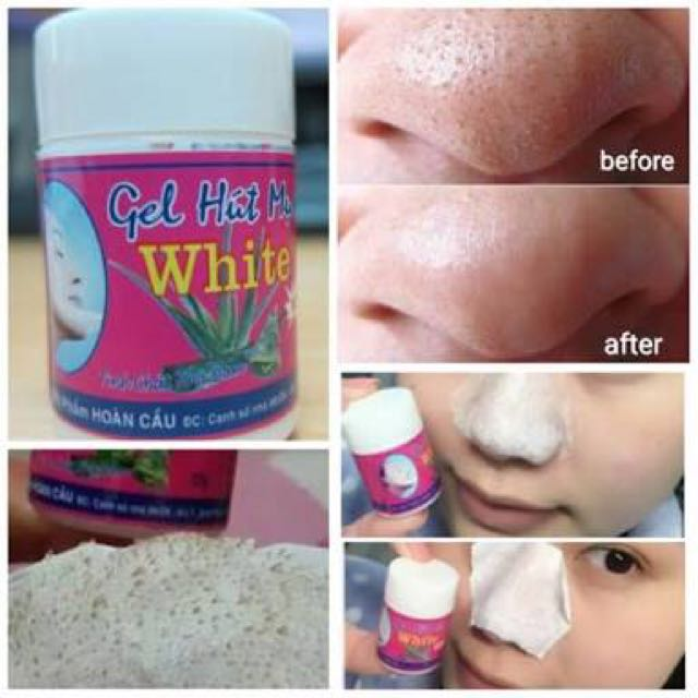 Clear Nose Mask (GEL MAT NA HUT MUN WHITE)