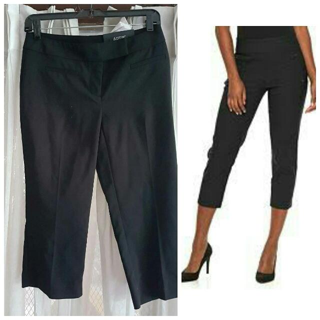Curvy Capri Midrise Office Pants Size Medium