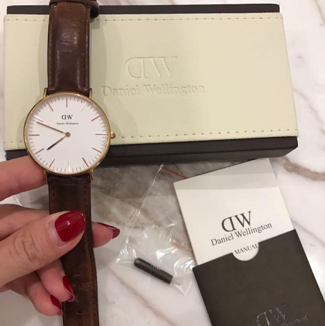 Daniel Wellington Watch Brown Leather