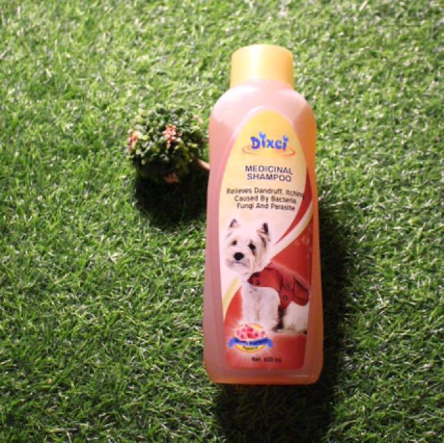 Dixci sampo anjing medicinal shampoo 600ml