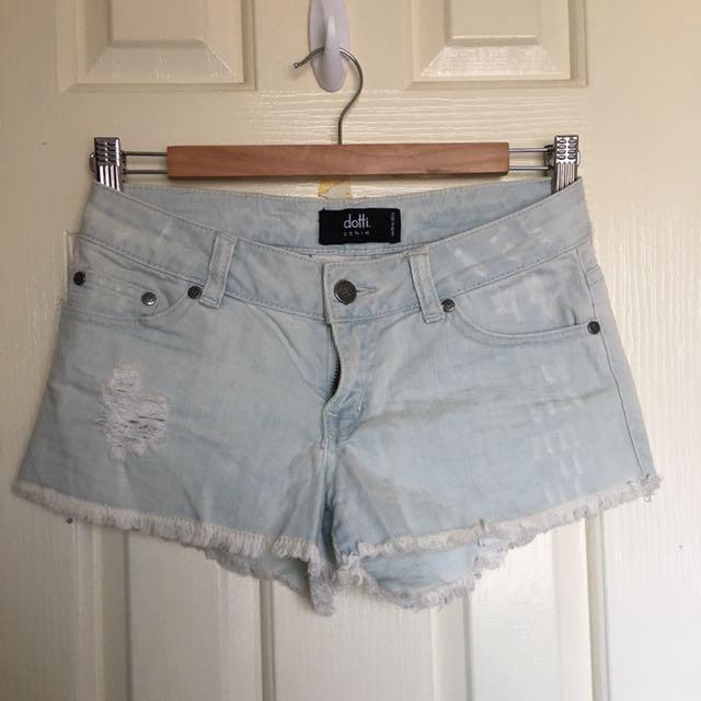 Dotti Denim Shorts -size 6