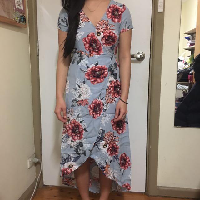 Dotti Wrap Floral Dress